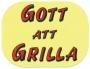 Infoetikett Gott att Grilla, 35x26mm gul, 4rlr