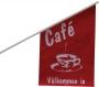 Flagga Café 40x63cm