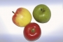 Frukt Äpple 9 cm (3-pack) Röd