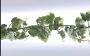 Girlanger Vindruvsgirlang 185 cm Grön