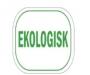 Infoetikett Ekologisk, 35x26mm vit, 4rlr