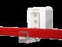 Plastram tillbehör - Ram-magnet väggmont parallell 25st