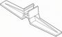 Plastram tillbehör  - Bordställ för Plastram rak 10par