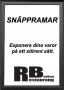 Snäppram Svart 50x70 44mm